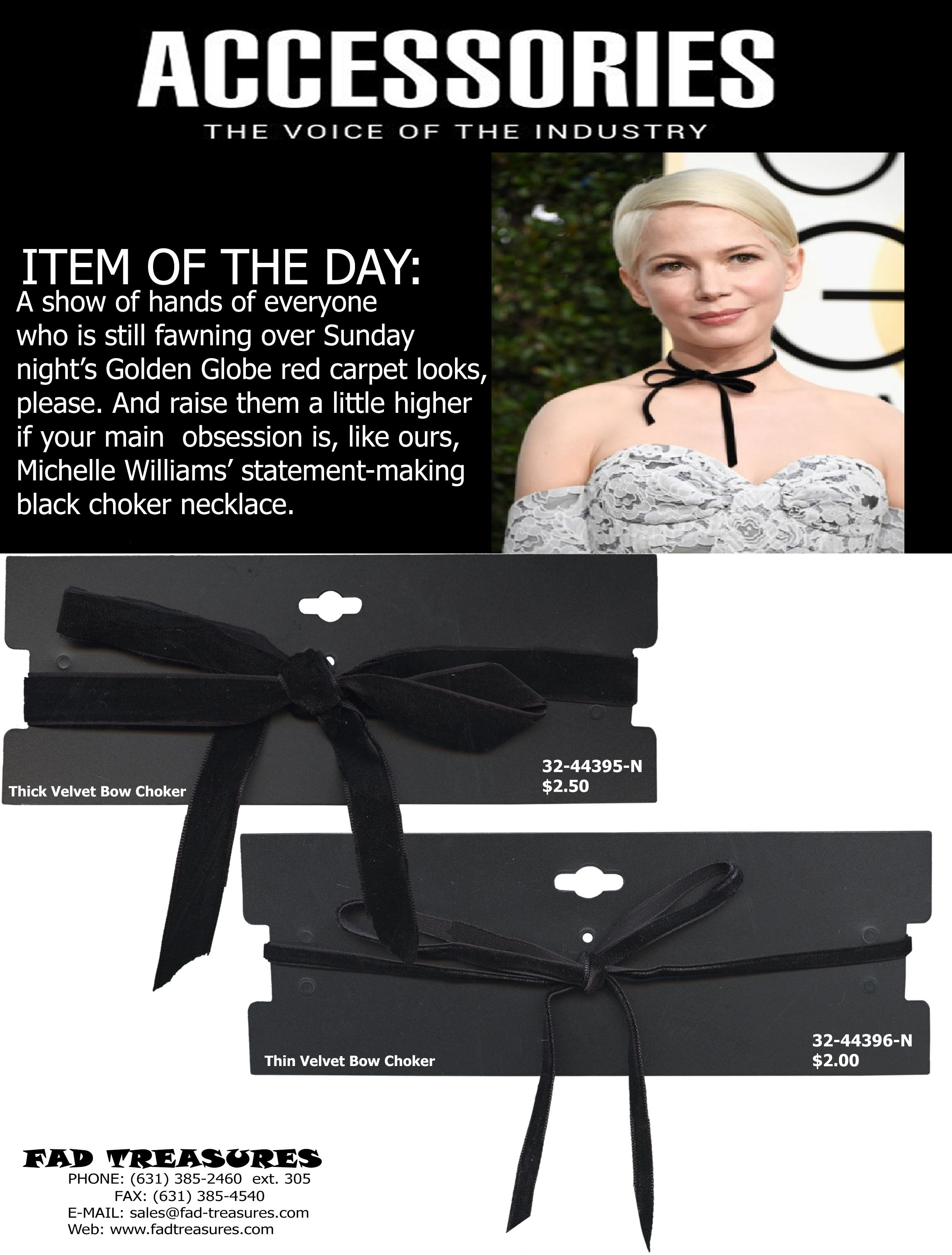 Choker Item of the Day Flyer